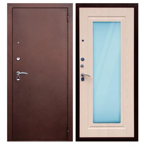 Входная дверь - ЮГАНСК Юг Царское Зеркало Бел. Дуб