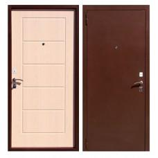 Входная дверь - ЮГАНСК Юг БМД 03 mini Бел. дуб