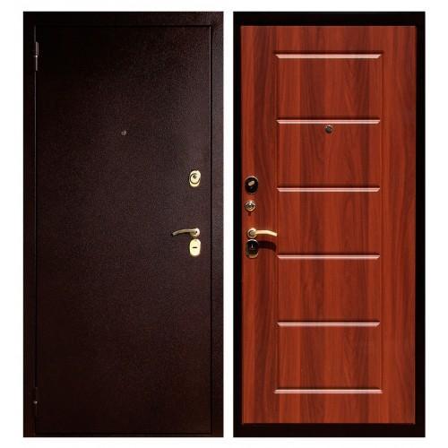 Входная дверь - ЮГАНСК Юг-03 Квадрат Ит.Орех