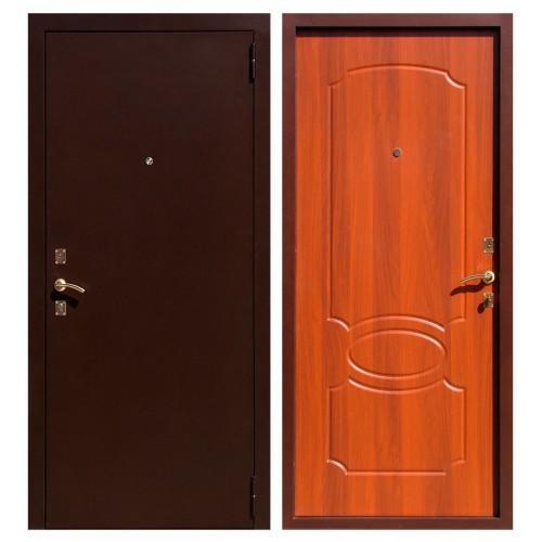 Входная дверь - ЮГАНСК Юг БМД 03 mini Итал. орех