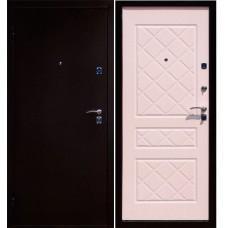 Входная дверь - ЮГАНСК ЭКО Русс Белый Ясень