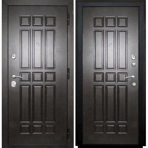 Входная дверь - VERDA мет. SD Prof-5 Сенатор венге