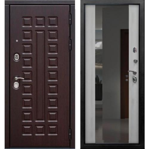 Входная дверь - VERDA SD PROF-5 СЕНАТОР ЗЕРКАЛО БЕЛЕНЫЙ ДУБ