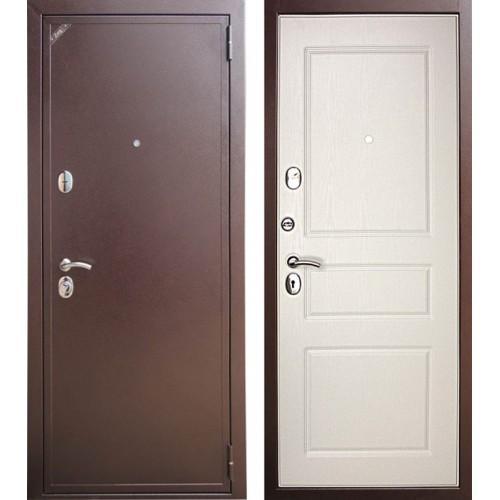 Входная дверь - Зетта Е2 Б2 Система Эмаль белая матовая