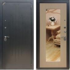 Входная дверь - Зетта Комфорт 2 Б1 Сохо белёный венге+зеркало