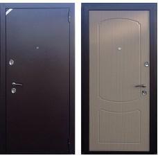 Входная дверь - Зетта Стандарт 2 БП1 беленый венге