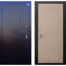Входная дверь - Зетта Комфорт 2 Д1 Слалом Бастион Венге беленый