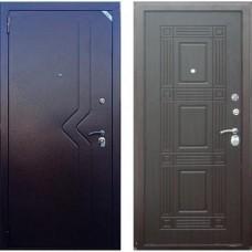 Входная дверь - Зетта Комфорт 2 Д1 Слалом Бастион Венге