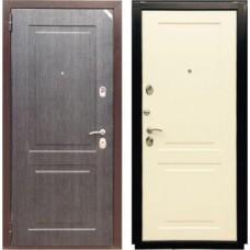 Входная дверь - Зетта Евро 3 Б2 черное серебро / перламутр