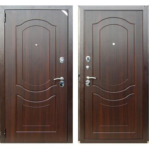 Входная дверь - Зетта Комфорт Венеция 3 Д1 Темный Орех