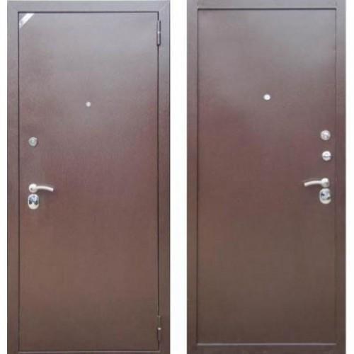Входная дверь - Зетта Комфорт 4 Б 1 (металл/металл)