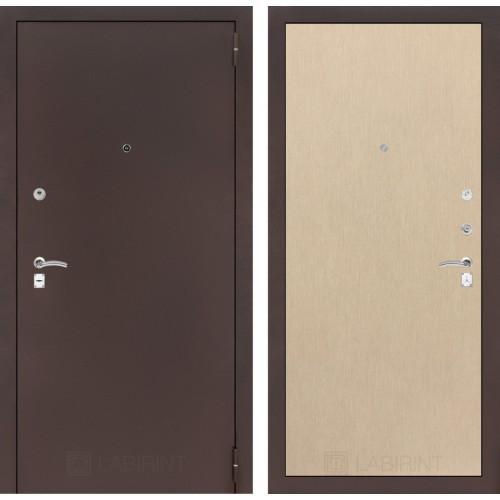 Входная дверь - CLASSIC антик медный 05 - Венге светлый