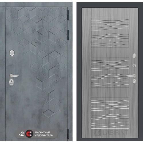 Входная дверь Бетон 06 - Сандал серый