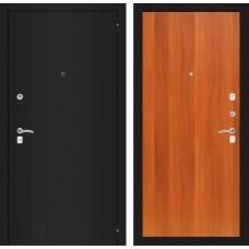 Входная дверь - CLASSIC шагрень черная 05 - Итальянский орех