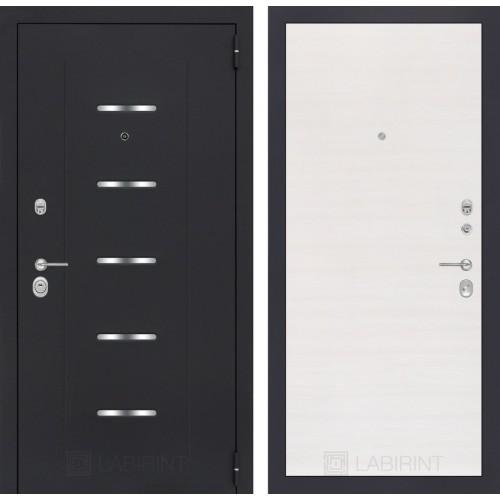 Входная дверь - ALFA 07 - Перламутр горизонтальный