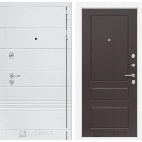 Входная дверь Трендо 03 - Орех премиум
