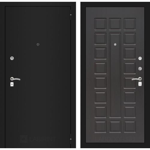 Входная дверь - CLASSIC шагрень черная 04 - Венге