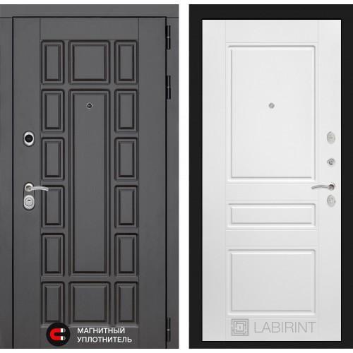 Входная дверь - NEW YORK 03 - Белый софт