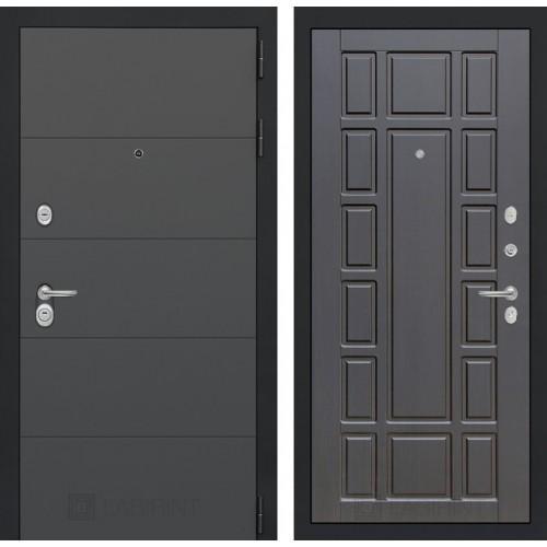 Входная дверь ART графит 12 - Венге