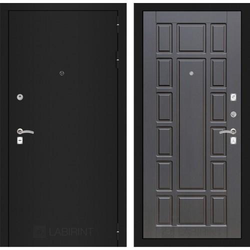 Входная дверь - CLASSIC шагрень черная 12 - Венге