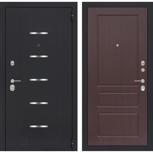 Входная дверь - ALFA 03 - Орех премиум