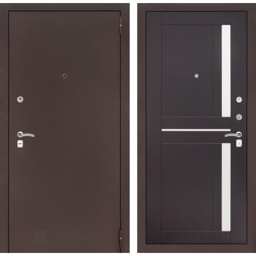 Входная дверь - CLASSIC антик медный 02 - Венге