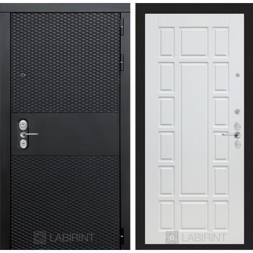 Входная дверь BLACK 12 - Белое дерево