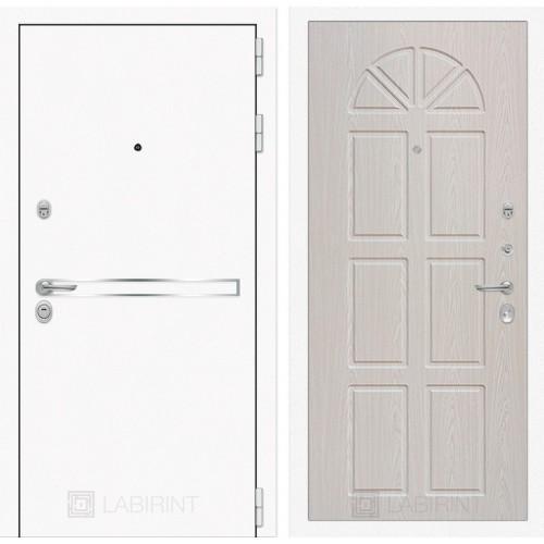 Входная дверь Лайн WHITE 15 - Алмон 25