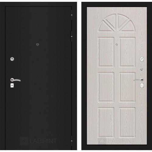 Входная дверь - CLASSIC шагрень черная 15 - Алмон 25