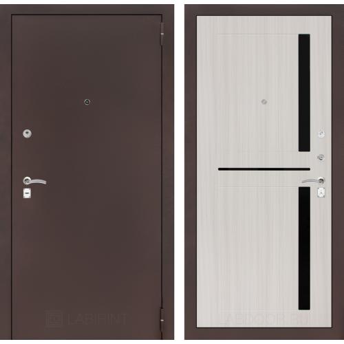 Входная дверь - CLASSIC антик медный 02 - Сандал белый