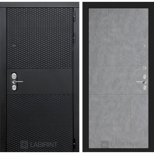 Входная дверь BLACK 21 - Бетон светлый
