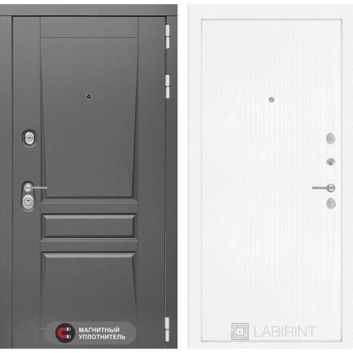 Входная дверь - Платинум 07 - Белое дерево