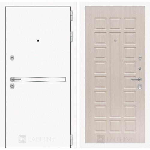 Входная дверь Лайн WHITE 04 - Беленый дуб