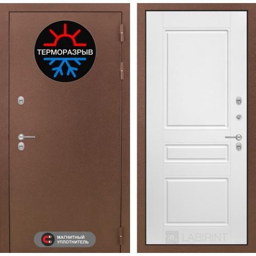 Входная дверь - Термо Магнит 03 - Белый софт