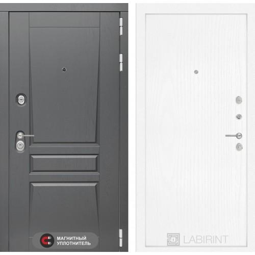 Входная дверь Платинум 07 - Белое дерево