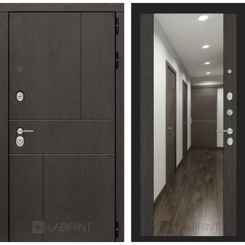 Входная дверь URBAN с Зеркалом Максимум - Венге