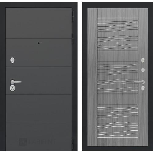 Входная дверь - ART графит 06 - Сандал серый