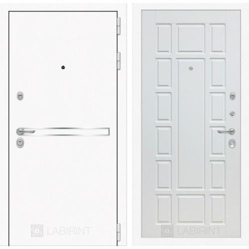 Входная дверь Лайн WHITE 12 - Белое дерево