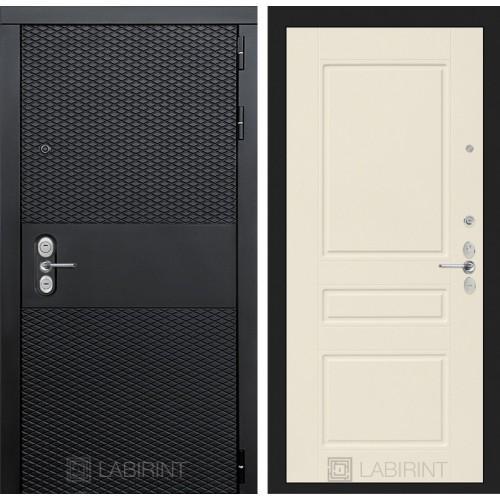 Входная дверь BLACK 03 - Крем софт