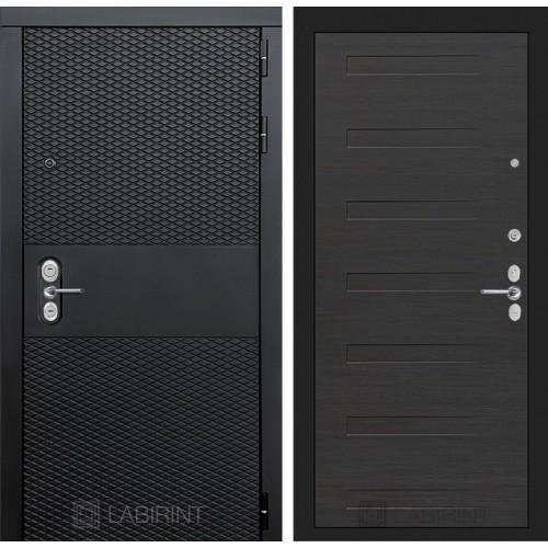 Входная дверь BLACK 14 - Эковенге горизонтальный