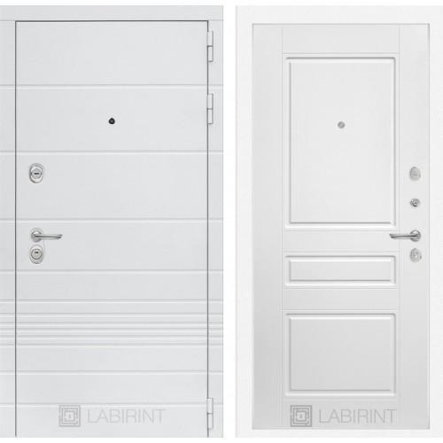 Входная дверь Трендо 03 - Белый софт