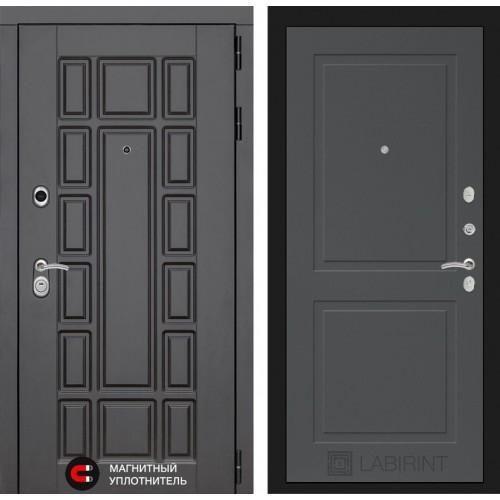 Входная дверь Нью-Йорк 11 - Графит софт