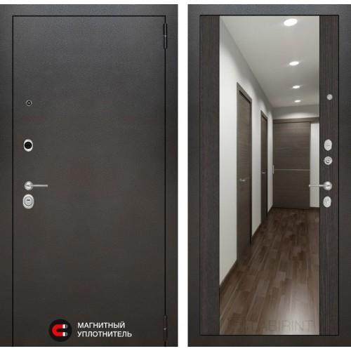 Входная дверь SILVER с Зеркалом Максимум - Венге