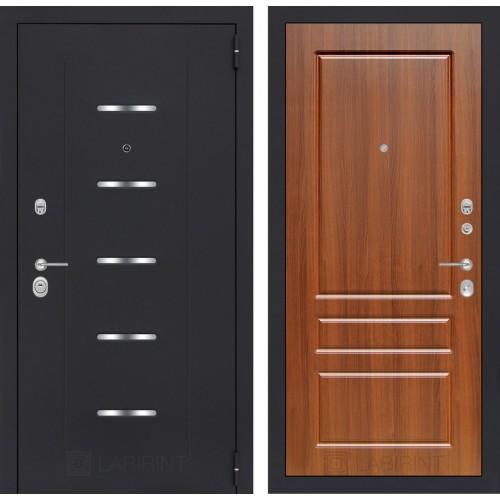 Входная дверь - ALFA 03 - Орех бренди