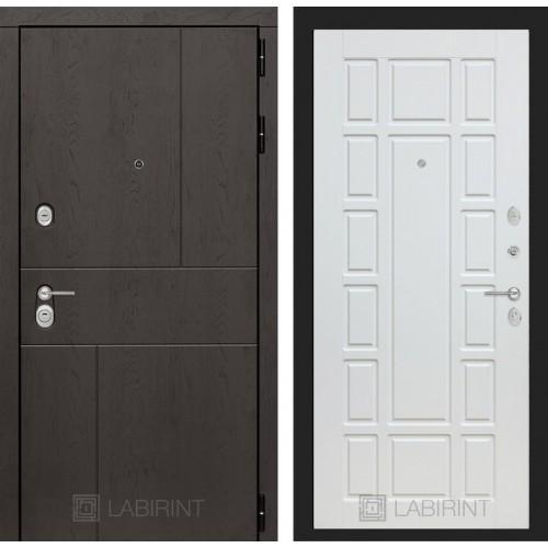 Входная дверь URBAN 12 - Белое дерево