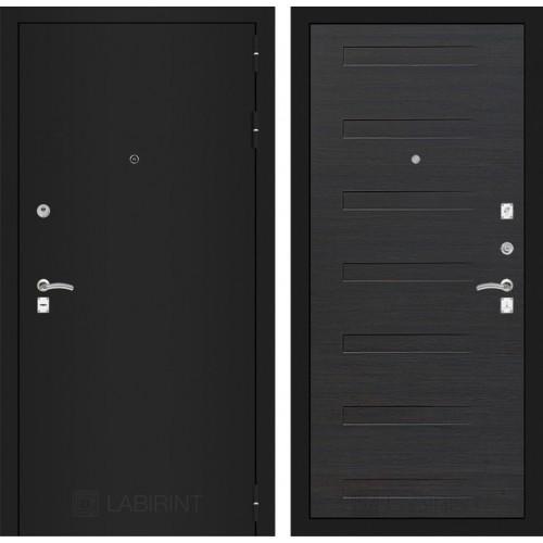 Входная дверь - CLASSIC шагрень черная 14 - Эковенге