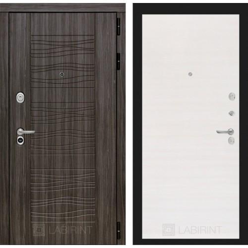 Входная дверь - SCANDI Дарк грей 07 - Перламутр горизонтальный