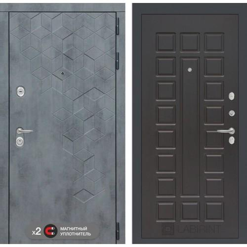 Входная дверь Бетон 04 - Венге
