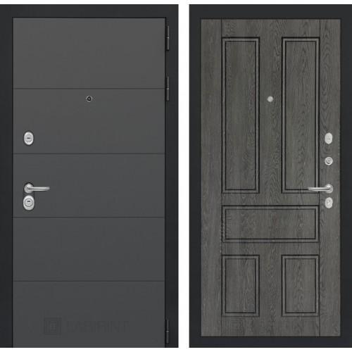 Входная дверь ART графит 10 - Дуб филадельфия графит