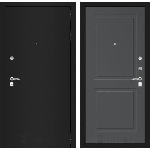 Входная дверь - CLASSIC шагрень черная 11 - Графит софт
